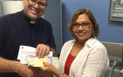 Cáritas appreciates donation of community in Chicago