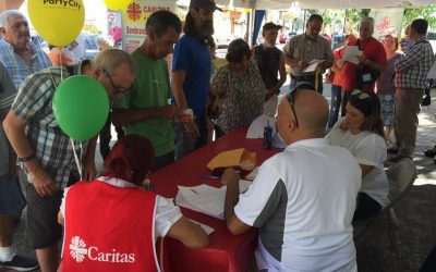 Cáritas conducts health clinic for victims of hurricane María