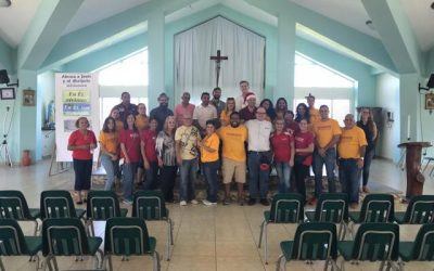 Cáritas of Puerto Rico working together with Universidad Sagrado Corazón